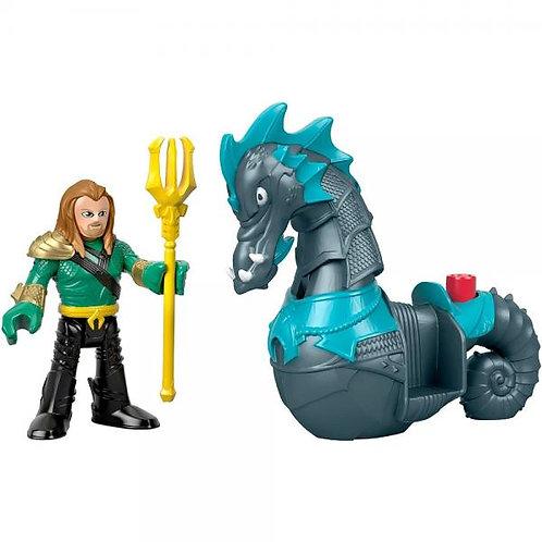 Imaginext DC Figura Básica Aquaman 3-8a