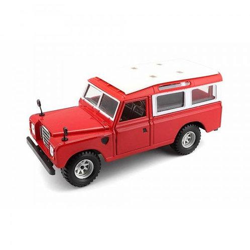 Carro 1:24 Land Rover Serie II 3a+