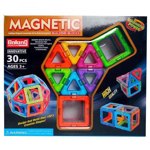 Bloques de Construcción Mágneticos 30pzs 3a+(432078)