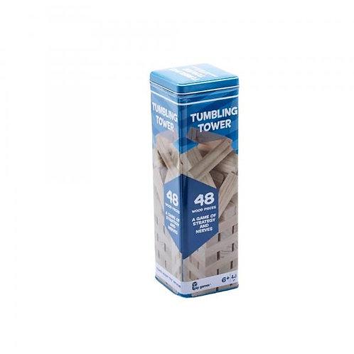 Juego Torre de Madera 48pzs Caja Metálica 6a+