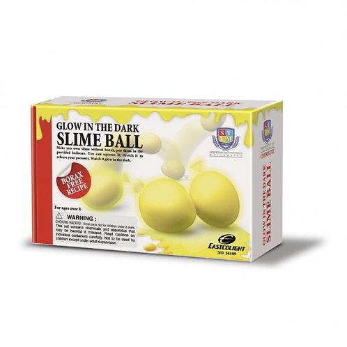 Crea tus Bolas Slime Brilla en la Oscuridad Amarillo 8a+