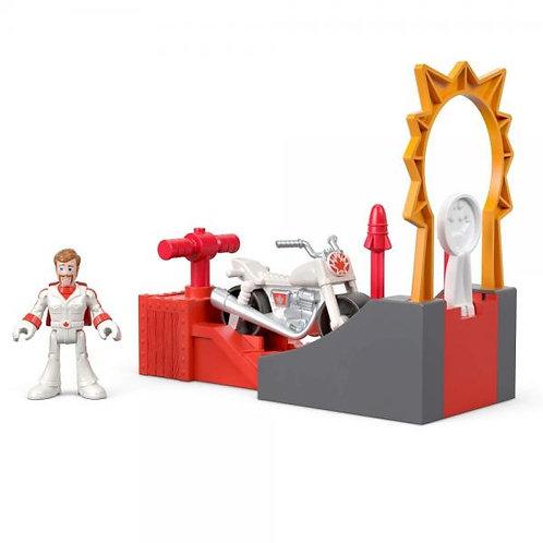 Imaginext Set de Acrobacias de Duke Caboon Toy Story 4 3-8