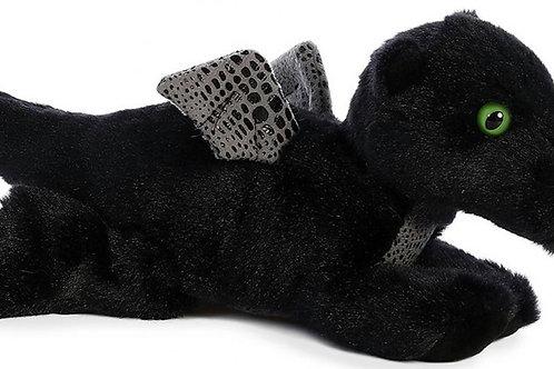 Peluche Dragón de Medianoche Negro