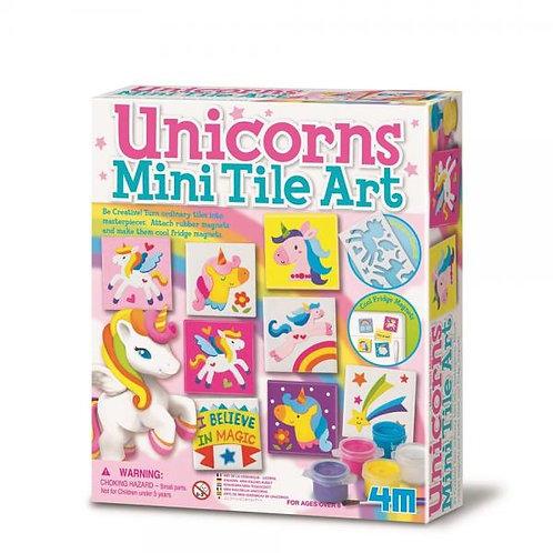 Arte de Mini Cerámicas de Unicornio 8a+
