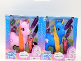 Happy Pony World Unicornios Set de 2 S/2 3a+