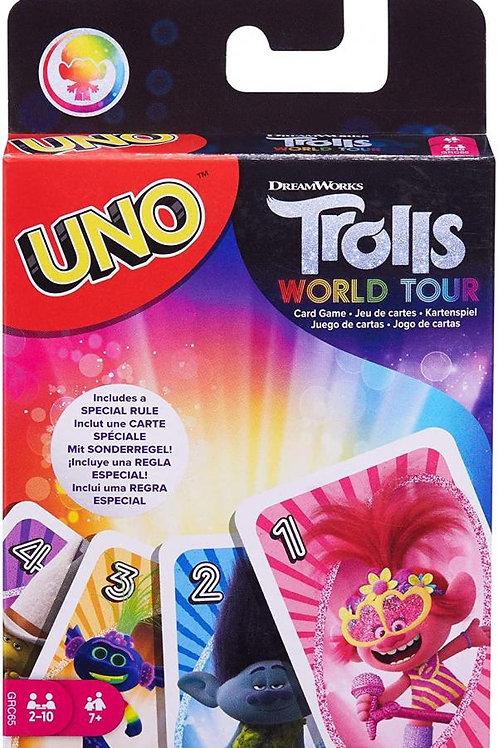 Juego de Mesa Uno Trolls World Tour 7a+