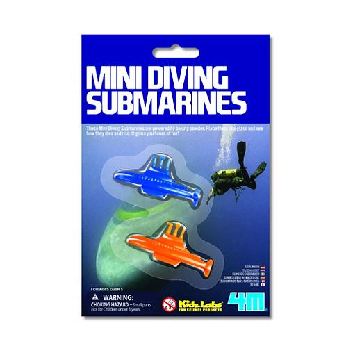 Minisubmarinos Set/2 5A+