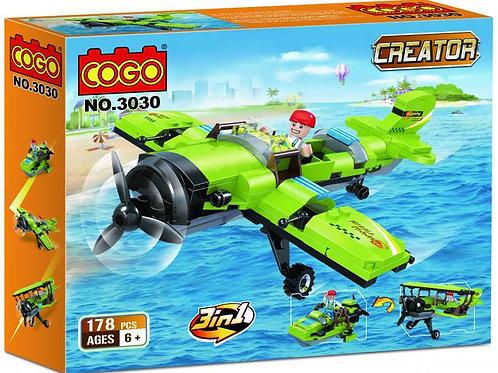 Aeroplano Creator 3en1 178pzs 6a+