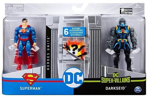 Figuras DC Comics Set/2 6 Accesorios Misteriosos 3a+