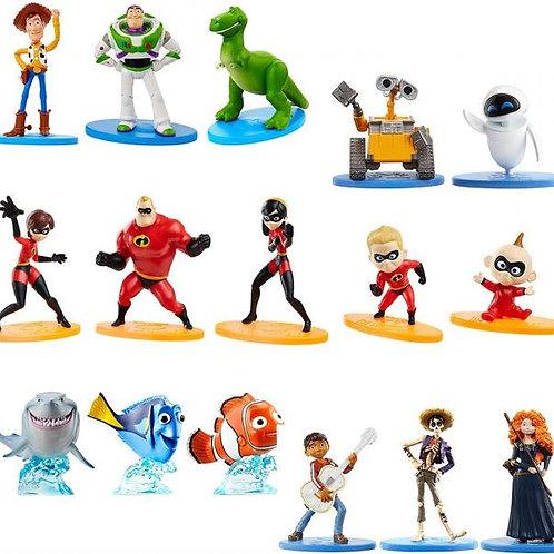 Figuras Micro Colección Personajes Pixar Surt/20 3a+