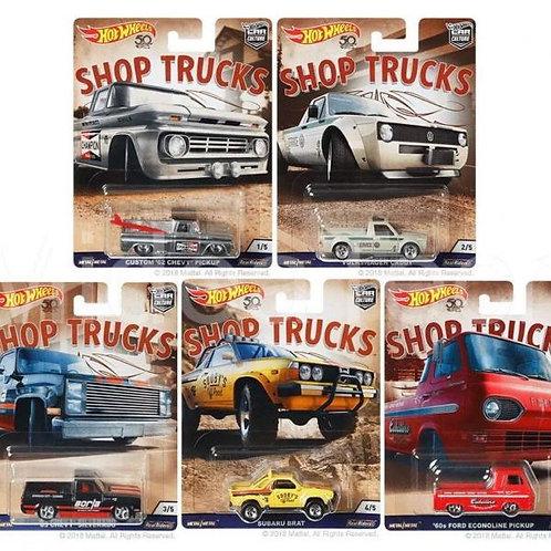 Carro Individual Hot Wheels Shop Truck Surt/5 3a+