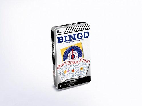 Juego de Bingo en Caja Metalica 3a+ / ( PP815 )