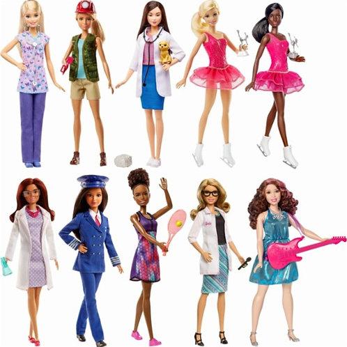Muñeca Barbie Profesiones Surt/5 3a+