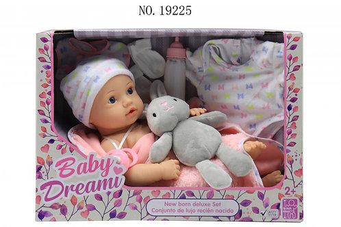 Baby Dream Conjunto de Lujo Recién Nacido 44cm 2a+