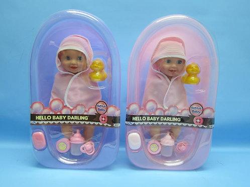 Bebé c/Tina de Baño y Accesorios S/2 2a+CJ12