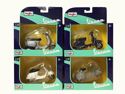 Motocicleta Escala 1:18 Vespa Surt/4 8a+