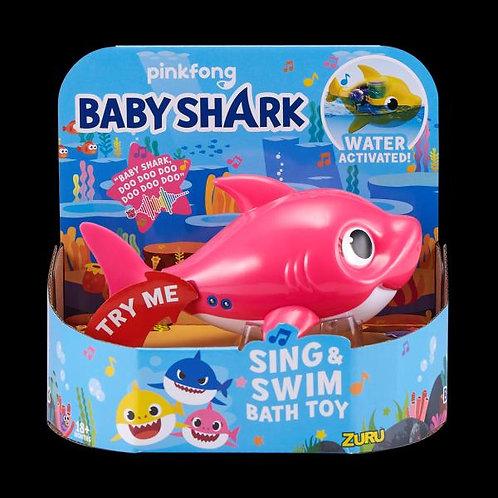 Tiburón Baby Shark con Movimiento Surt/3 18m+
