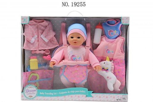 Dream Collection Bebé con Set de Viaje 40,5cm 2a+