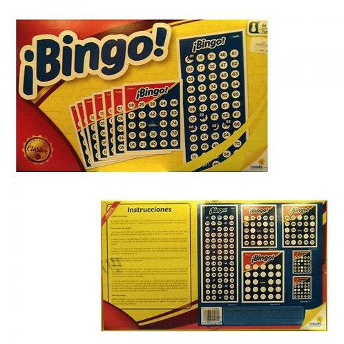 Juego de Mesa Bingo Clásico 8a+