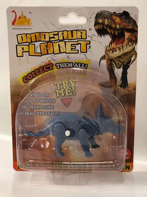 Dinosaurio Triceratops de Cuerda Blister 3a+(432511)