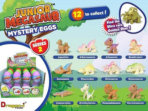 Huevo Dinosaurio Junior Megasaur Sorpresa Serie/2 Display/24 3a+