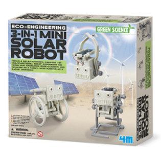 Mini Robot Solar 3en1 8a+