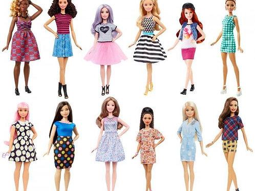 Muñeca Barbie Fashionista Surt/8 3a+