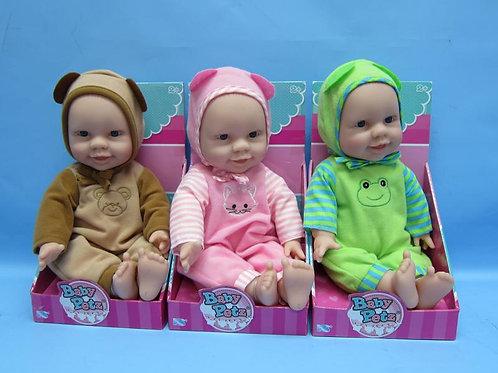 Bebé con Disfraz de Mascotas S/3 2a+