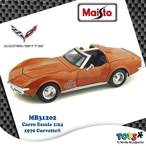 Carro 1:24 1970 Corvette® 3a+