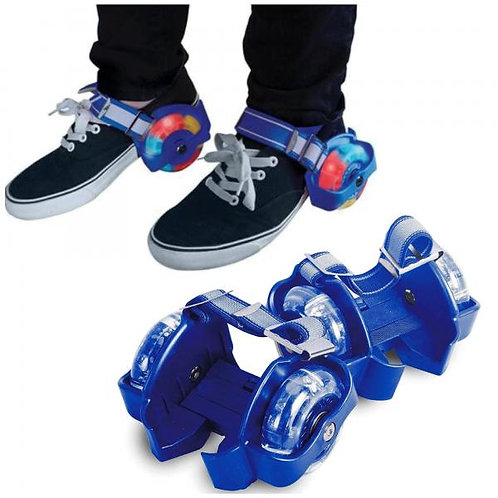 Patines Adaptables C/Luces Azul 5a+