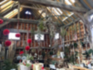 The amazing barn at Philpotts allotments