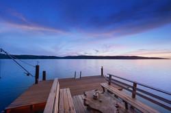 Tomales Bay Cottage - back deck