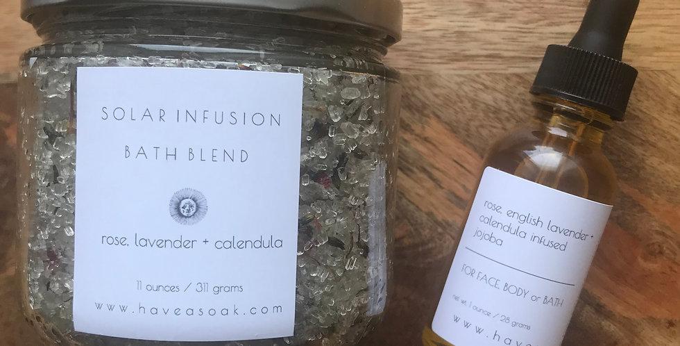 solar infusion bath + body gift set 2019/2020 season