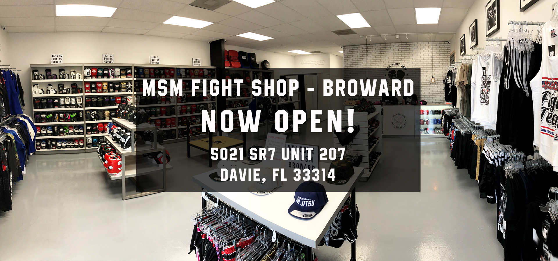 Miami and Davie Fight Shop | Martial Arts Stores