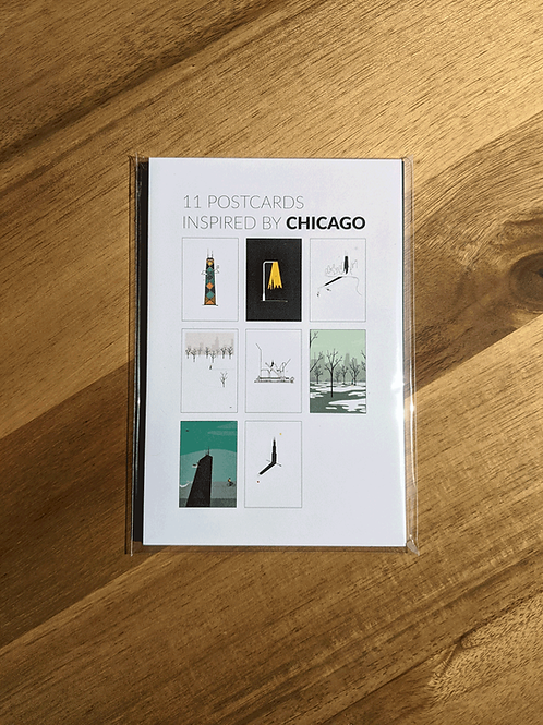 Chicago Postcard Package (11)