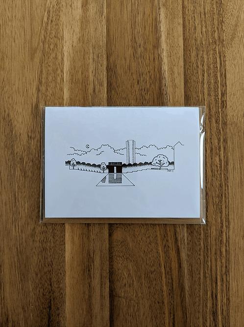 Oklahoma City National Memorial - greeting card