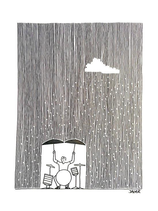 Rain Drummer