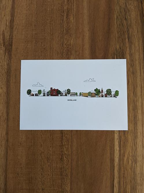 Roseland - postcard