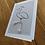 Thumbnail: Immature Snowy Egret - greeting card