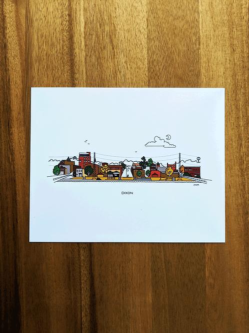 Dixon - print