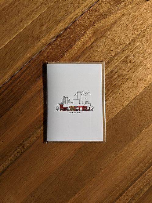 Greenwood Tulsa color - greeting card