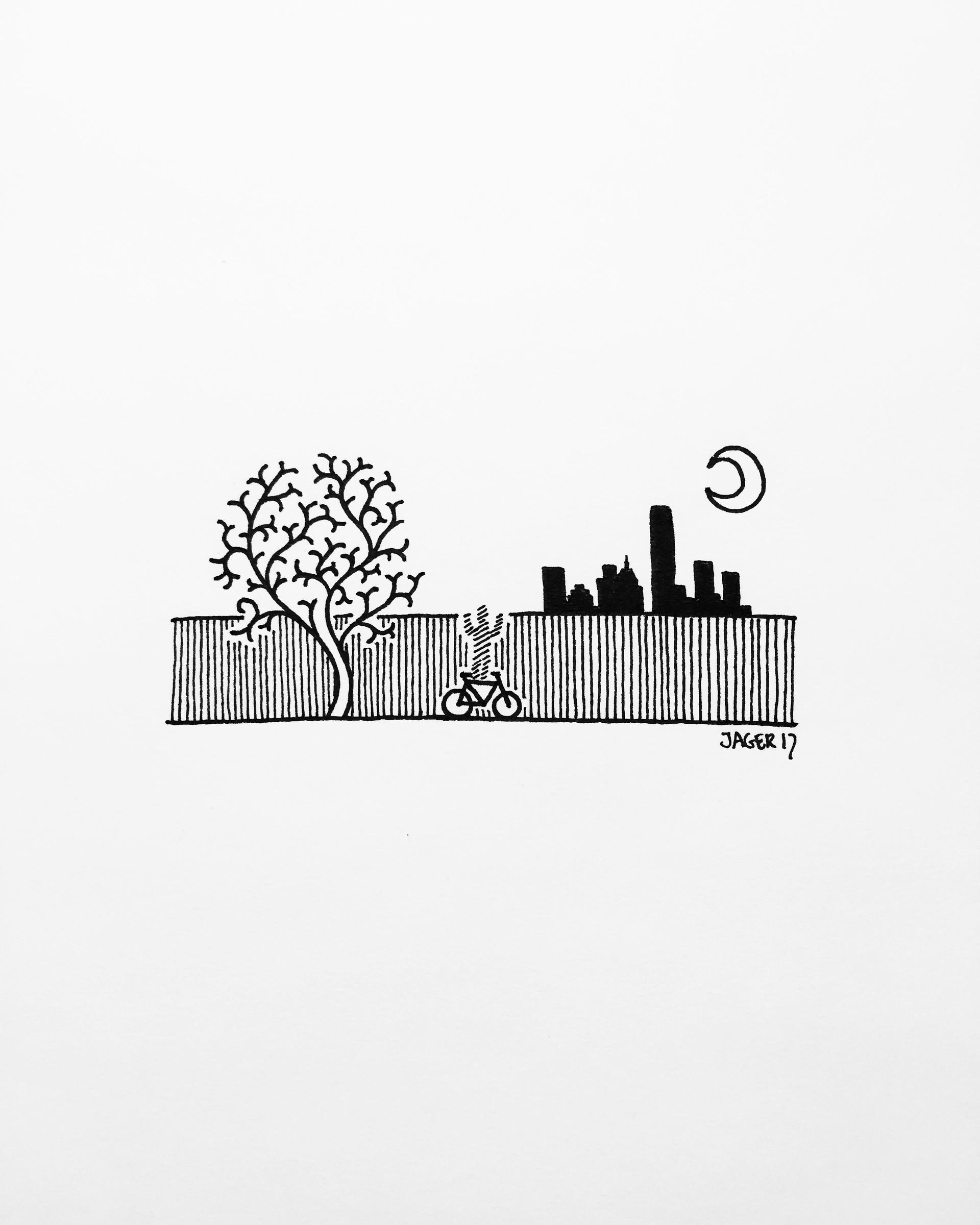 Skyline Peeking