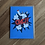 Thumbnail: OKC!! Blue Orange - greeting card