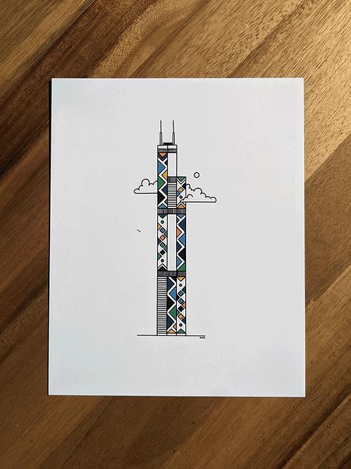 Willis (Sears) Tower - print