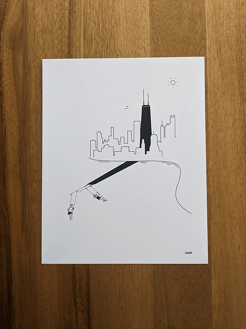 Chicago Summer Vibes - print