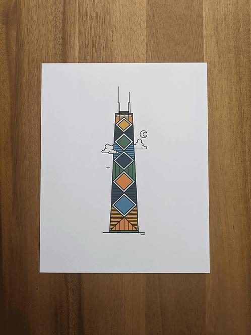 Hancock Tower - print