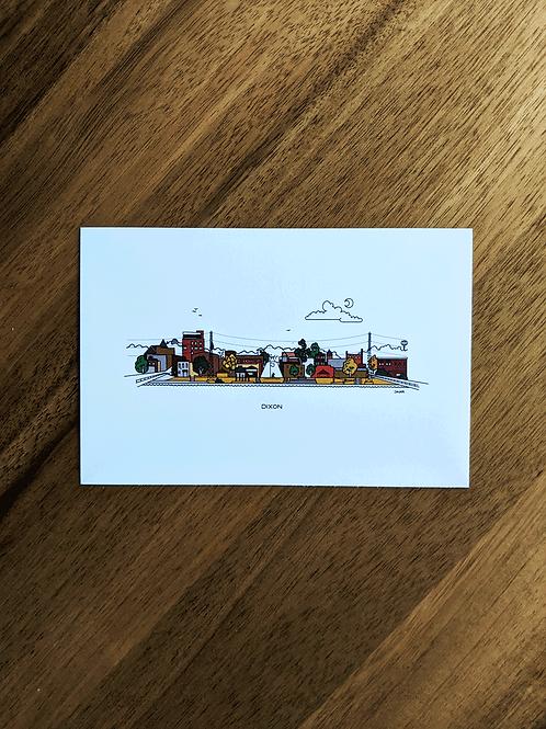 Dixon - postcard