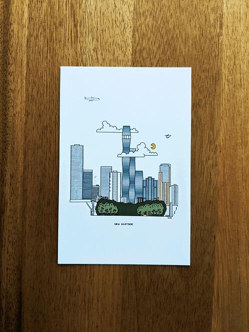 New Eastside - postcard