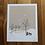 Thumbnail: Winterstorm OKC + northern cardinal - 8 x 10in print