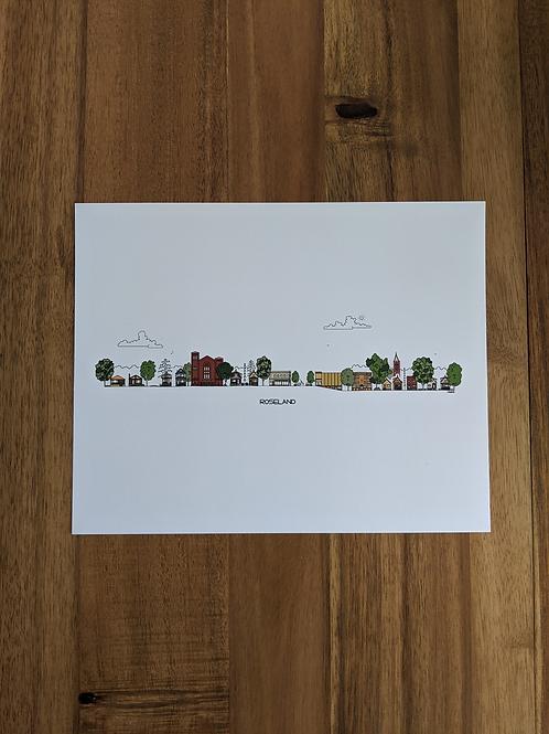 Roseland - print